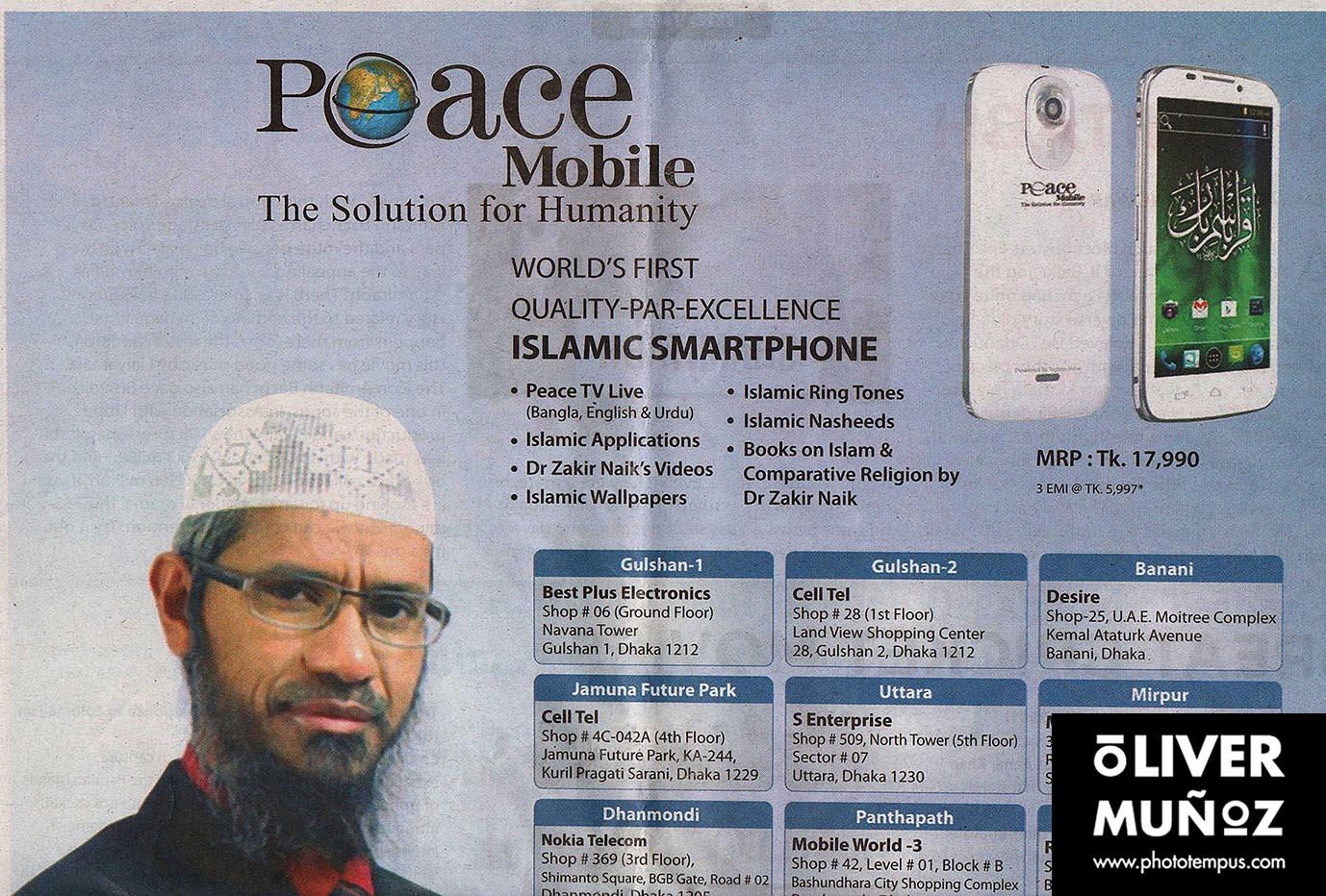 La paz llegará en breve por vía telefónica