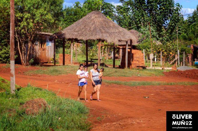 El color rojo de Misiones ( Argentina )