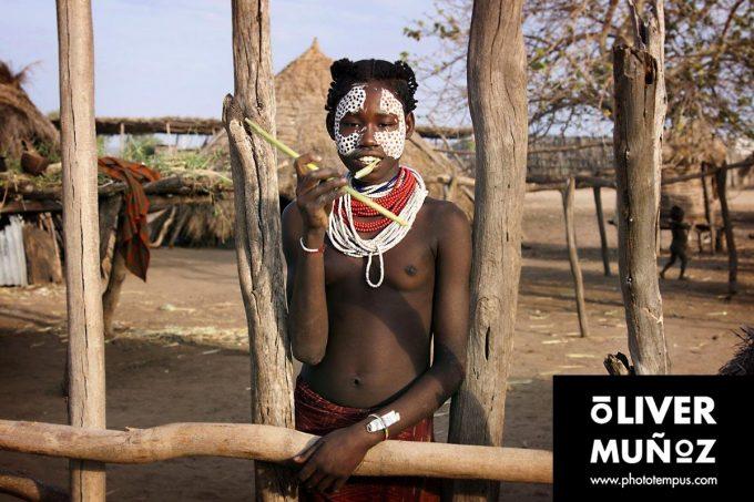 Las tribus del valle del Omo ( Etiopia )