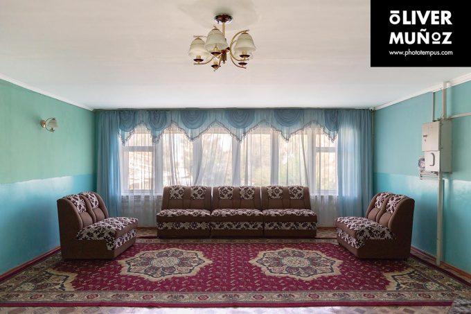"""El hotel Ala-Too, un reducto soviético """"habitable"""" ( Kyrgyzstan )"""